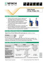 High Force Spot Welding Heads for Automation - FP190, FP200, FP5