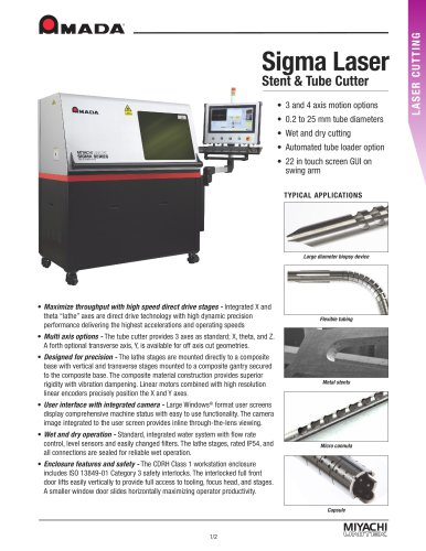 Laser Tube Cutting Systems