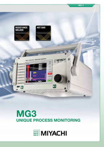 MG3 UNIQUE PROCESS MONITORING