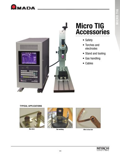 Micro TIG Accessories Brochure