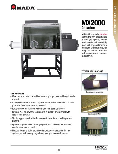 MX-2000 Glovebox Technical