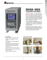 Pulsed Micro TIG Welder - MAWA-300A