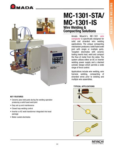 Wire Spot Welder and Compactor - MC-1301