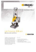 Lab Pulverizer REX tech