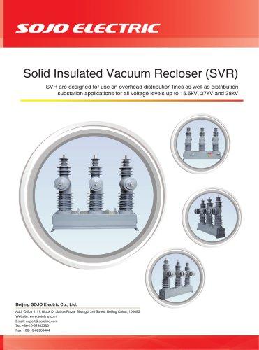 Solid Insulated Vacuum Recloser (SVR)