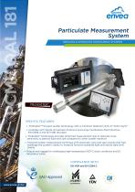 PCME QAL 181 CEMS dust monitor