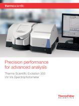 Thermo Scientific Evolution 350 UV-Vis Spectrophotometer