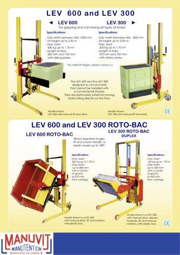 LEV 600 ROTO-BOBINE