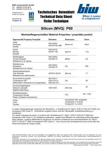Silicon (MVQ)  P60