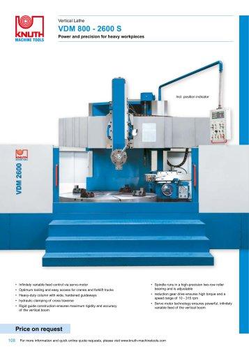 VDM 800 - 2600 S