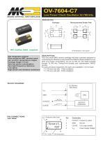 Oscillators OV-7604-C7