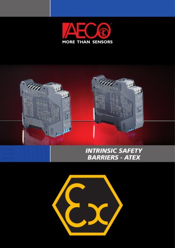 INTRINSIC SAFETY ATEX BARRIERS