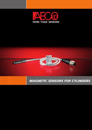 MAGNETIC SENSORS FOR CYLINDERS