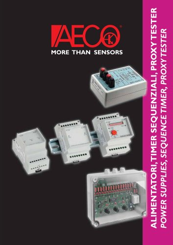 POWER SUPPLIES, SEQUENCE TIMERS, PROXY TESTER
