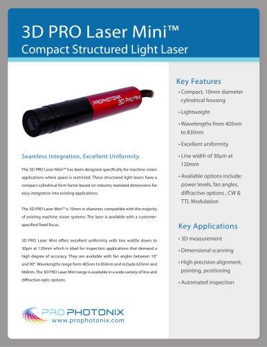 3D Pro Laser Mini