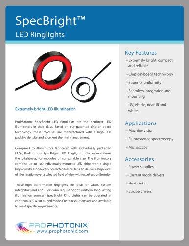 SpecBright? LED Ring Lights