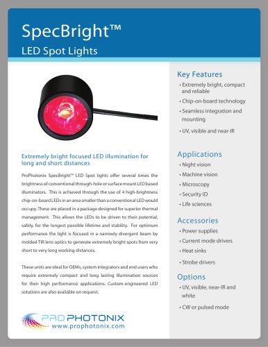 SpecBright? LED Spot Lights