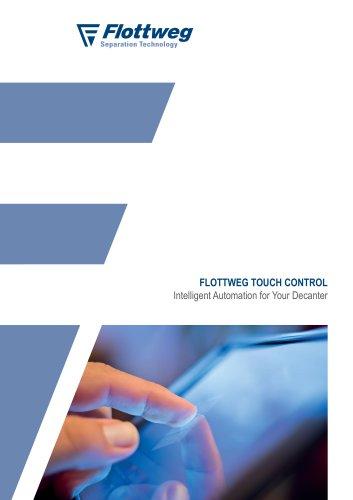 Flottweg Touch Control
