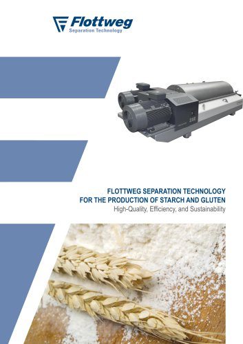 Production of Starch and Gluten