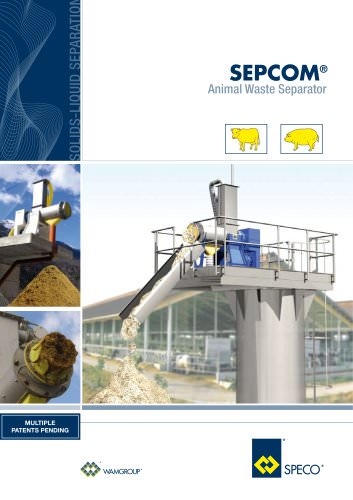 Animal Waste Separator SEPCOM