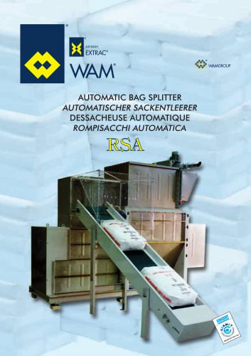 Automatic Bag Splitter RSA Brochure