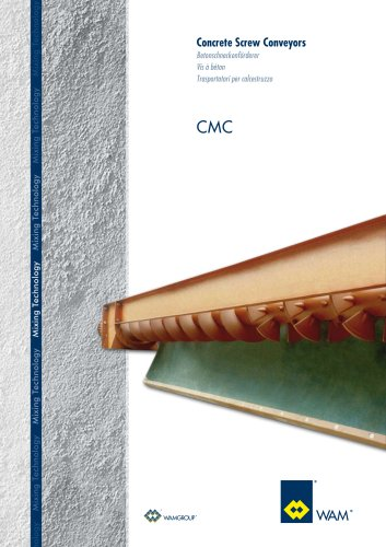 Concrete Screw Conveyors CMC  Brochure