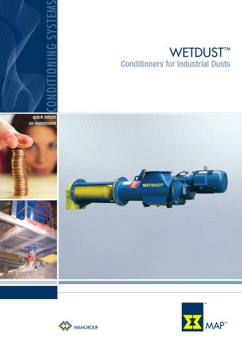 Conditioners for Industrial Dusts WETDUST Brochure