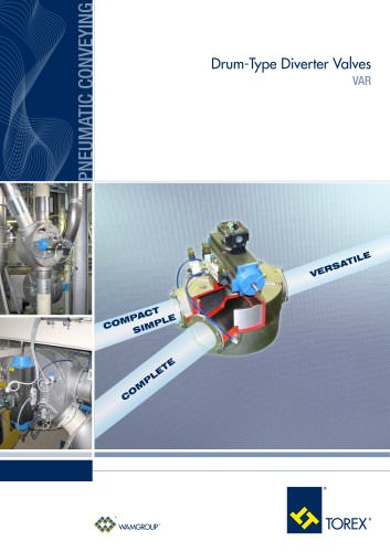 Drum-Type Diverter Valves VAR Brochure