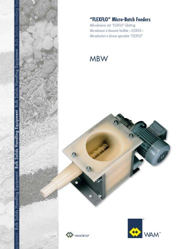 Flexflo Micro-Batch Feeders MBW Brochure
