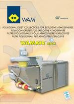 Polygonal Dust Collectors for explosive atmosperes WAMAIR ATEX Brochure