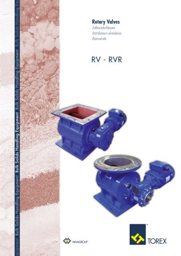Rotary Valves RV-RVR Brochure