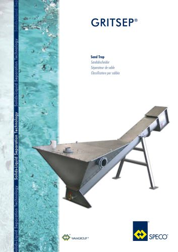 Sand Trap GRITSEP Brochure