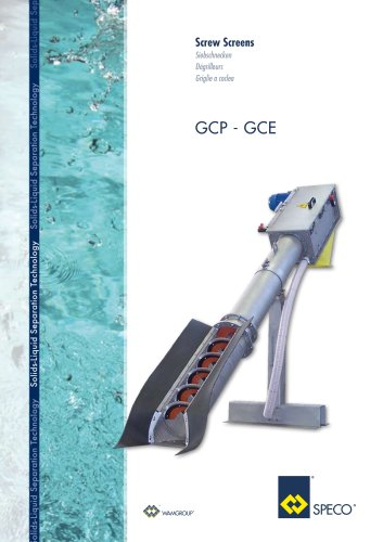 Screw Screens GCP-GCE Brochure