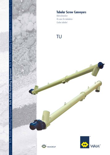 Tubular Screw Conveyors TU Brochure