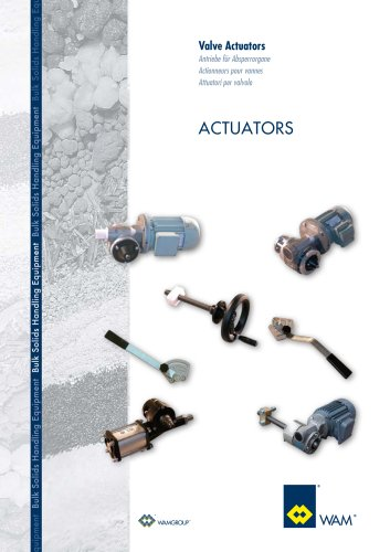 Valve ACTUATORS Brochure