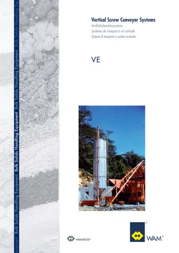 Vertical Screw Conveyor Systems VE Brochure