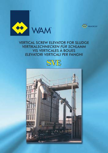 Vertical Screw Eleator for Sludge SVE Brochure