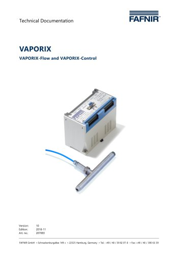 VAPORIX Flow and Control