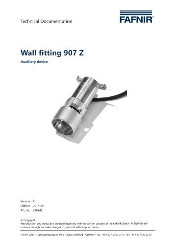Wallmounting Typ 907