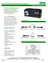 LCF-2530 Accelerometer Datasheet