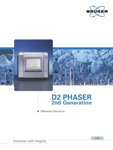 D2 PHASER 2nd Generation- Diffraction Solutions