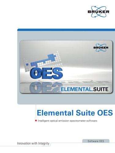 Elemental Suite OES - Intelligent optical emission spectrometer software