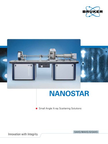 NANOSTAR - Small Angel X-Ray Scattering Solutions