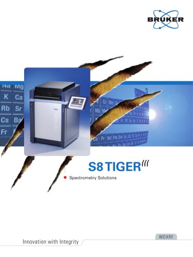 S8 TIGER - Spectrometry Solutions