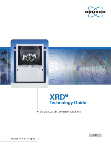 XRD2 Technology Guide - D8 DISCOVER Diffraction Solutions