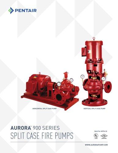 AURORA ® 900 SERIES SPLIT CASE FIRE PUMPS
