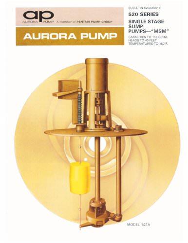 Series 520 - Sump Pumps
