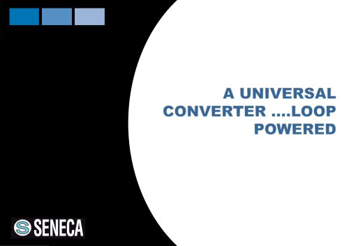 A converter...really universal!