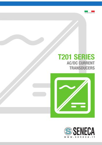 T201 SERIES AC/DC CURRENT TRANSDUCERS