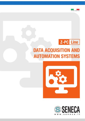 Z-PC Line DATA ACQUISITION AND AUTOMATION SYSTEMS